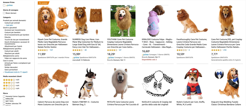 nicchia di mercato animali domestici