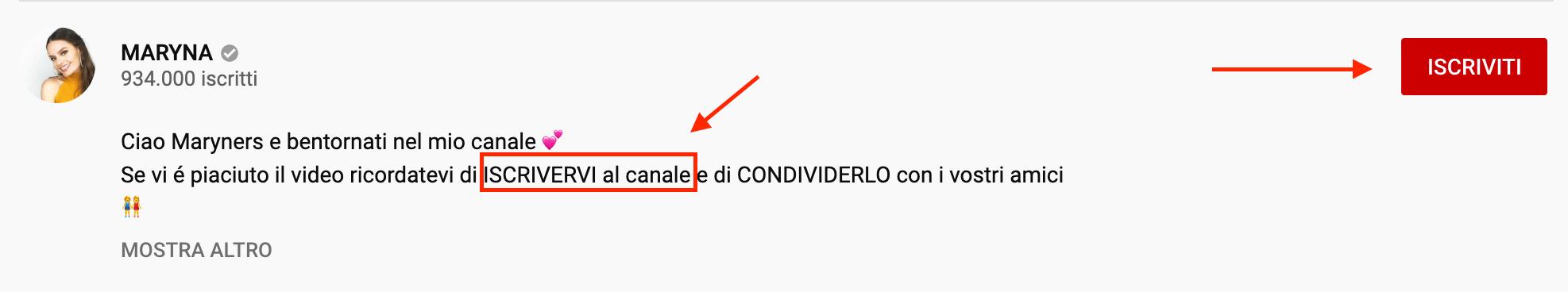 visualizzazioni su youtube