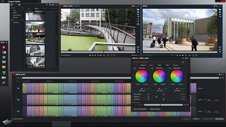 Lightworks software gratuito di video editing
