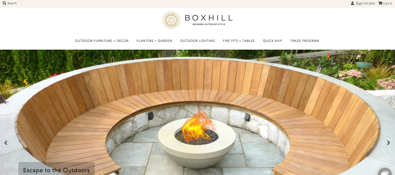 boxill exemple site outdoor