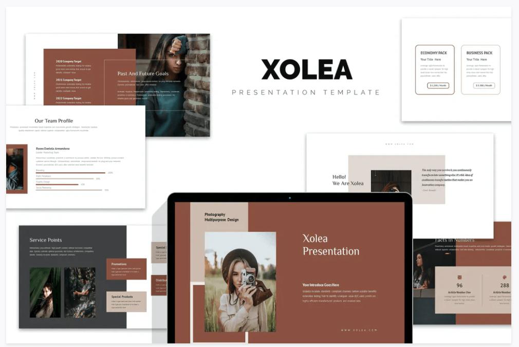 exemple présentation powerpoint xolea