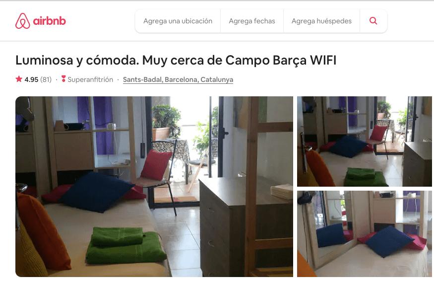 Airbnb - Una de los ejemplos de startups más famosas