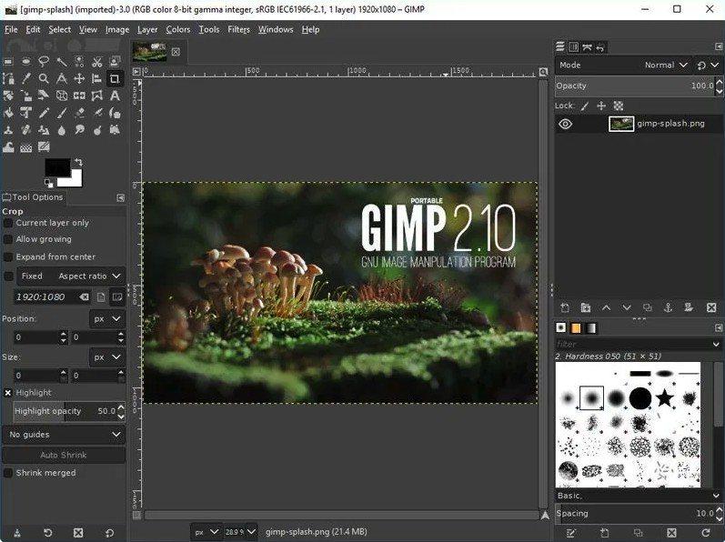 Gimp - Uno de los mejores programas de diseño gráfico gratuito del mercado