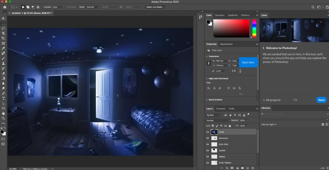 Adobe Photoshop: programmi di grafica professionali