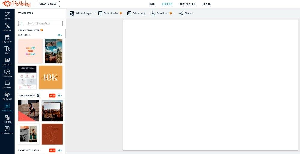 PicMonkey - Diseño gráfico sencillo y profesional
