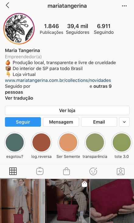 como vender no Instagram