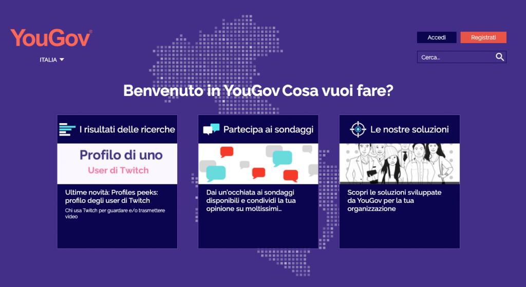 YouGov: guadagnare online con i sondaggi