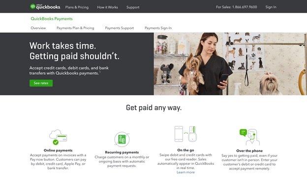 quickbook metodo di pagamento