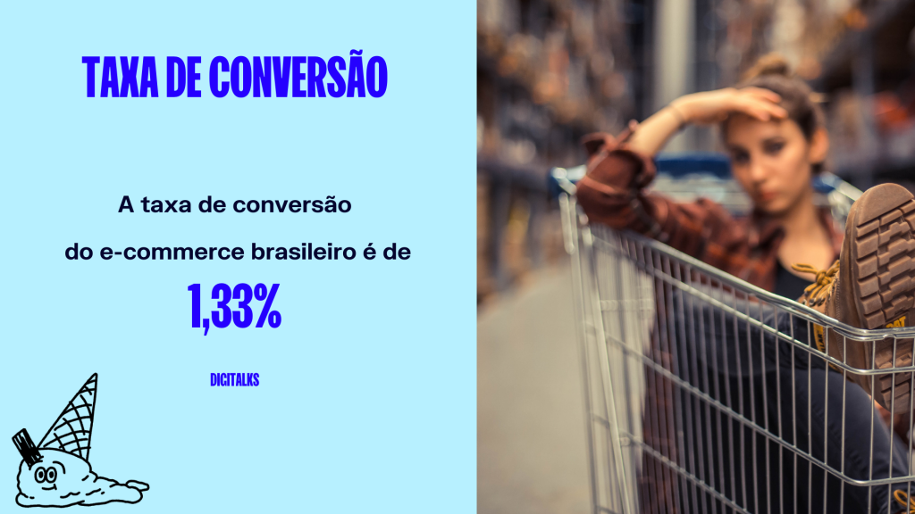 Estatística sobre e-commerce no Brasil #8: Taxa de conversão e-commerce