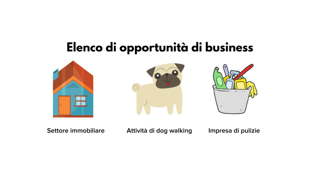altre opportunità di business