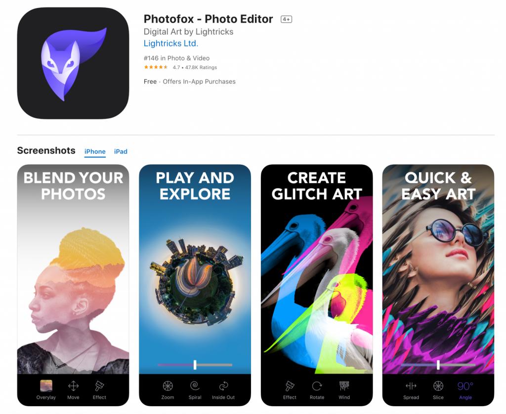 Enlight PhotoFox App