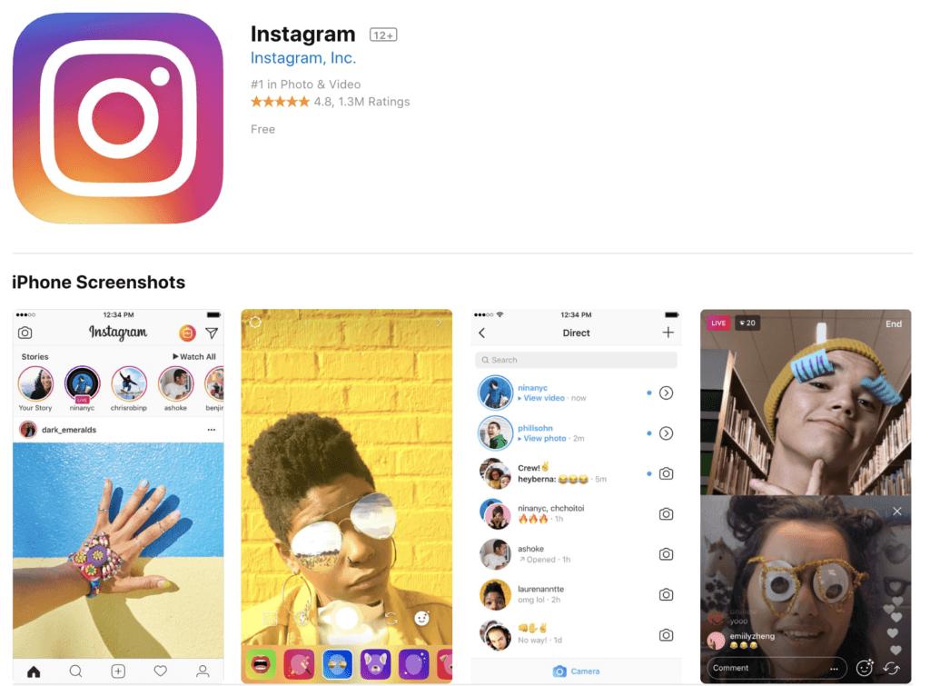 Bilder bearbeiten mit Instagram