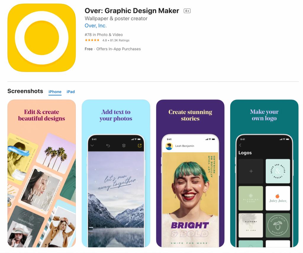 Over App Fotobearbeitung