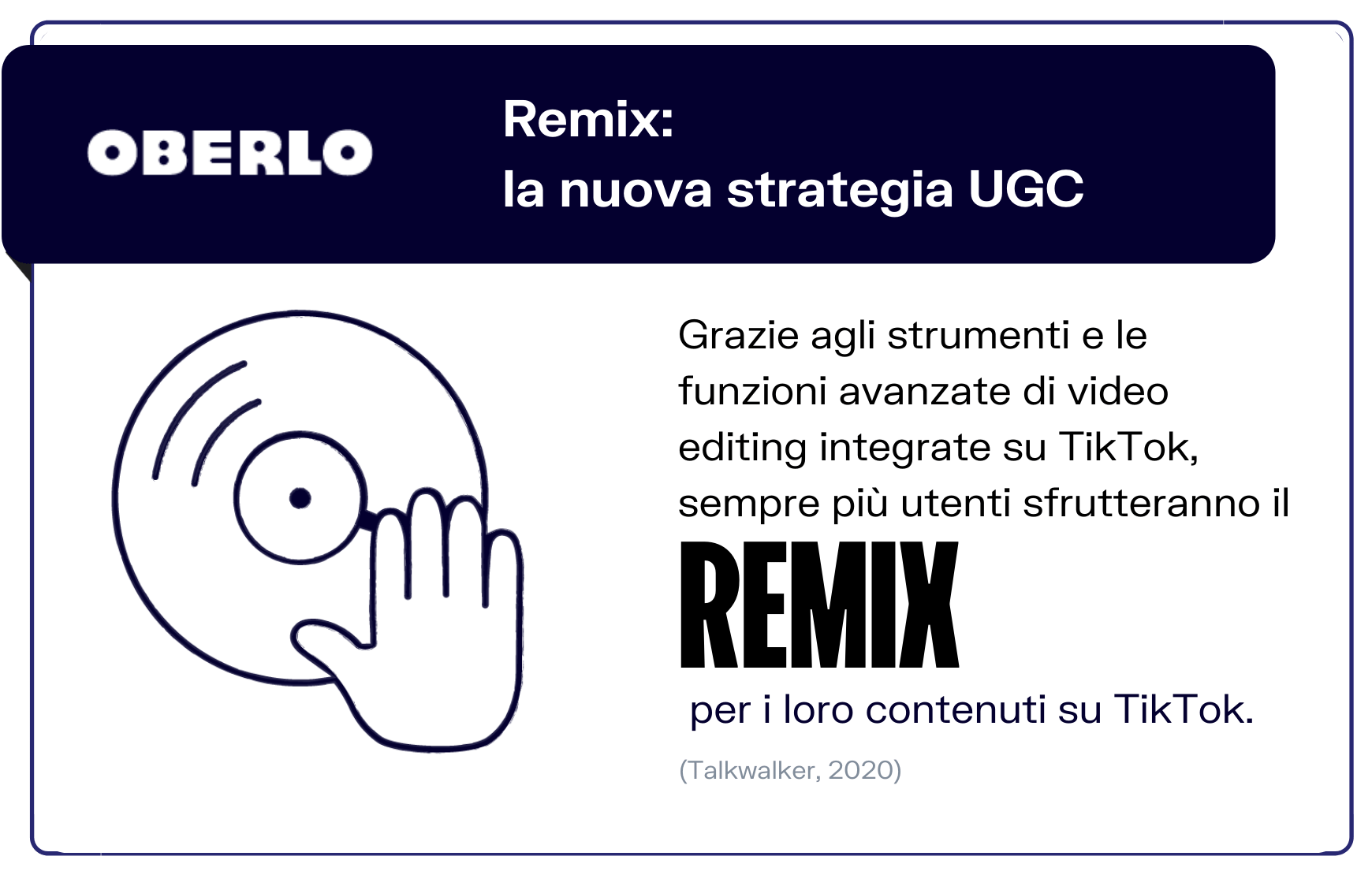 User generated content: remix