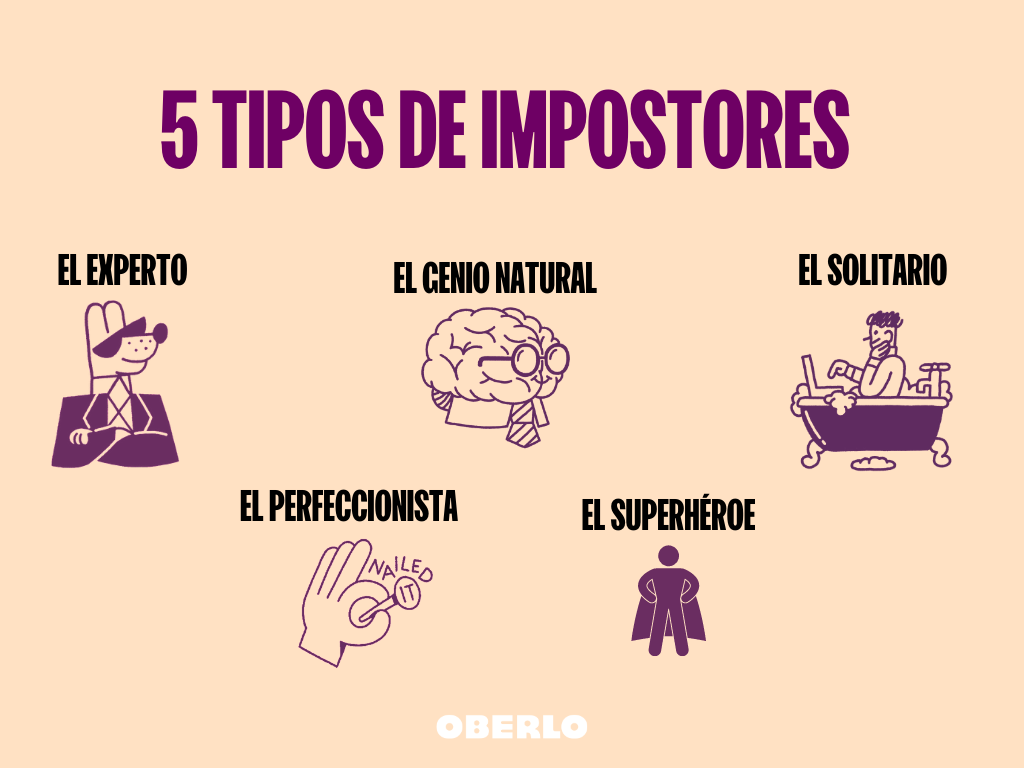 5 tipos de impostores