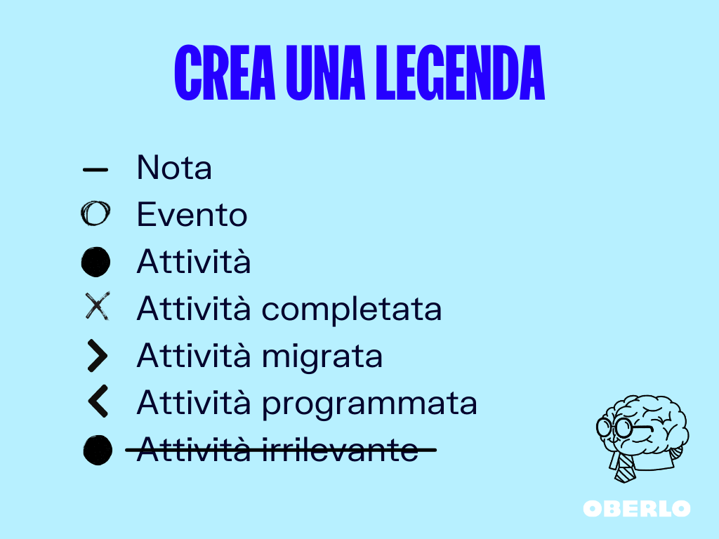 crea una legenda