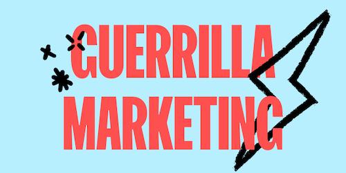 Guerrilla marketing: cos'è e come può aiutare il tuo ecommerce