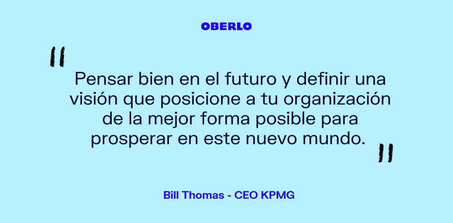 frases de liderazgo bill thomas kpmg