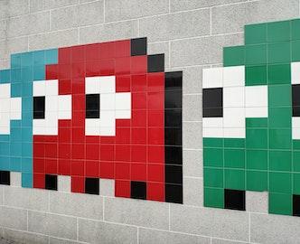 Les fantômes du jeu vidéo Pacman
