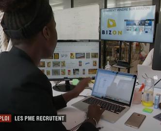 Bizon, SPN Amazon Agency on French TV