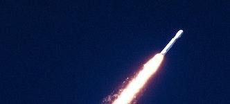 Fusée représentant une croissance rapide sur Amazon