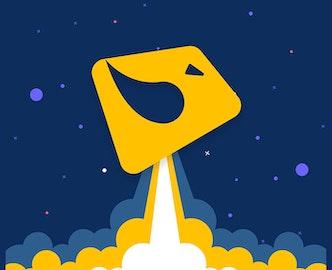 Illustration du logo Bizon au décollage, l'agence faisant décoller les marques sur Amazon