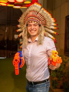 Antoine Sandoz-Lenoir, chargé de projet e-commerce à l'agence Amazon Bizon