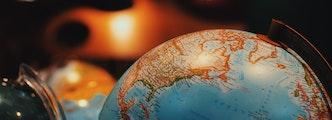 Globe de notre belle planète Terre