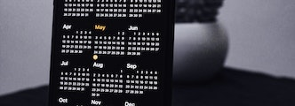 2020 key dates on Amazon calendar