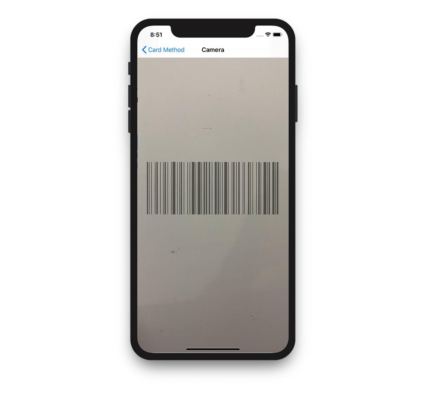 Barcode Card Scanner