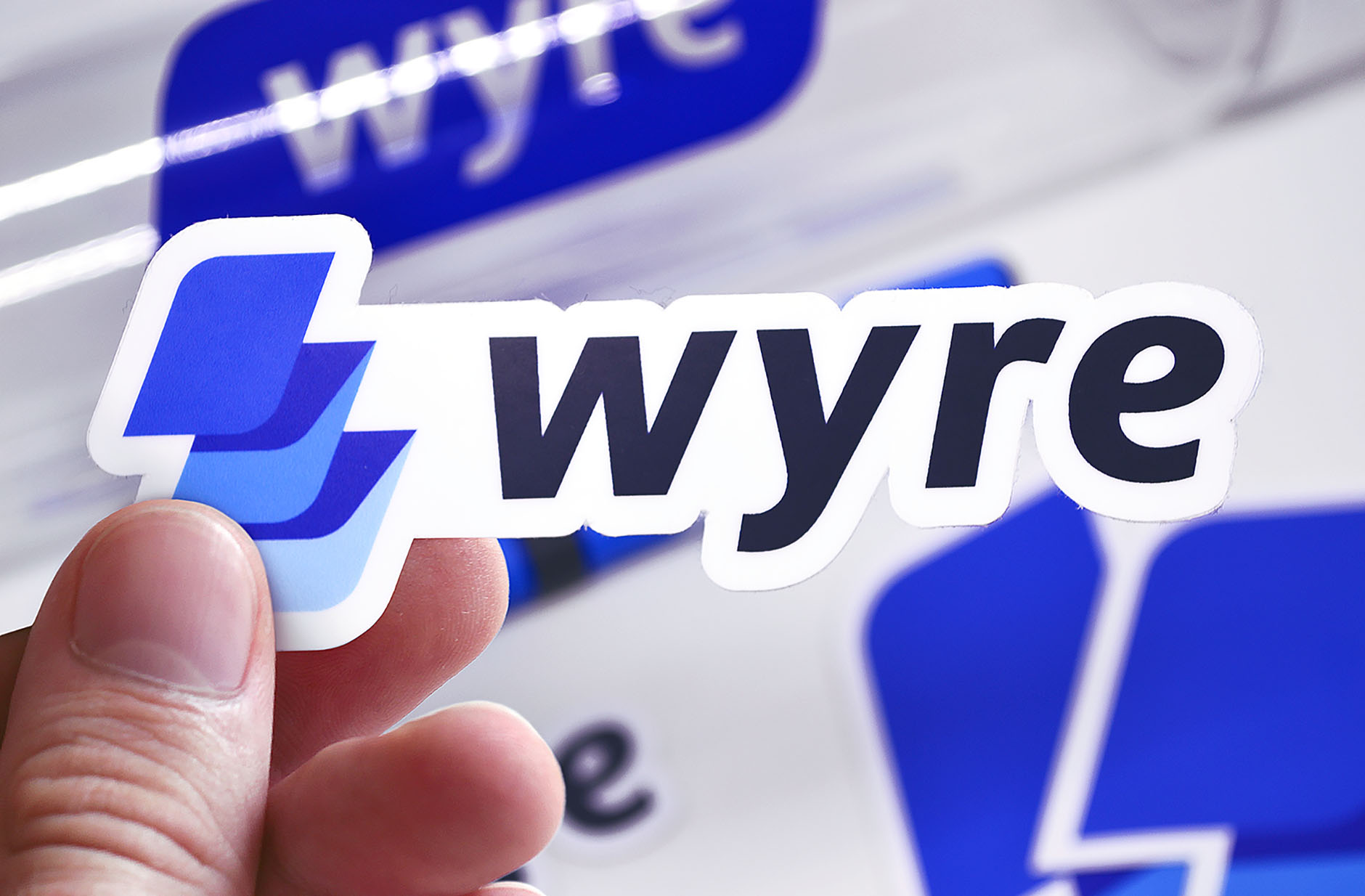 wyre logo sticker