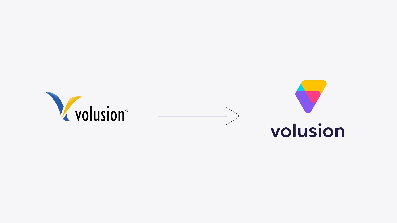 Volusion Logo evolution