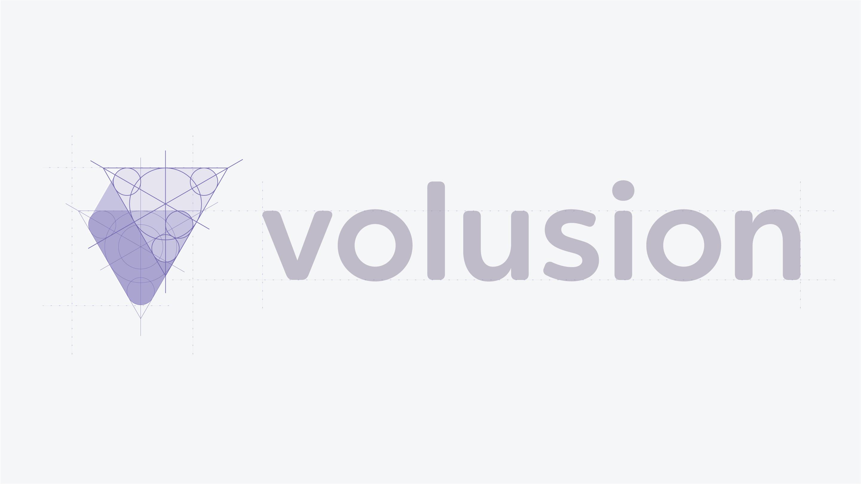 Volusion logotype grid