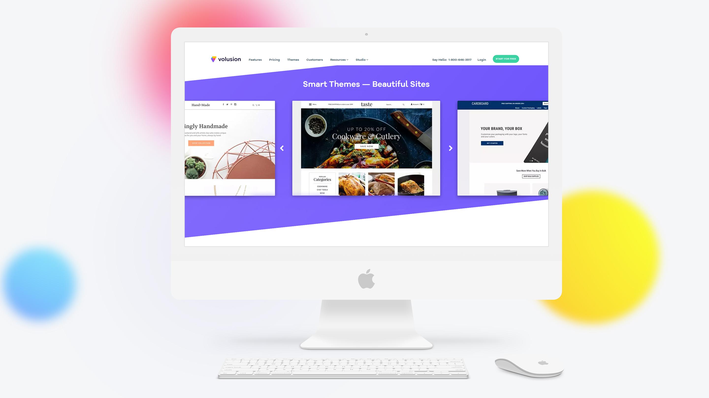 Volusion Desktop Website