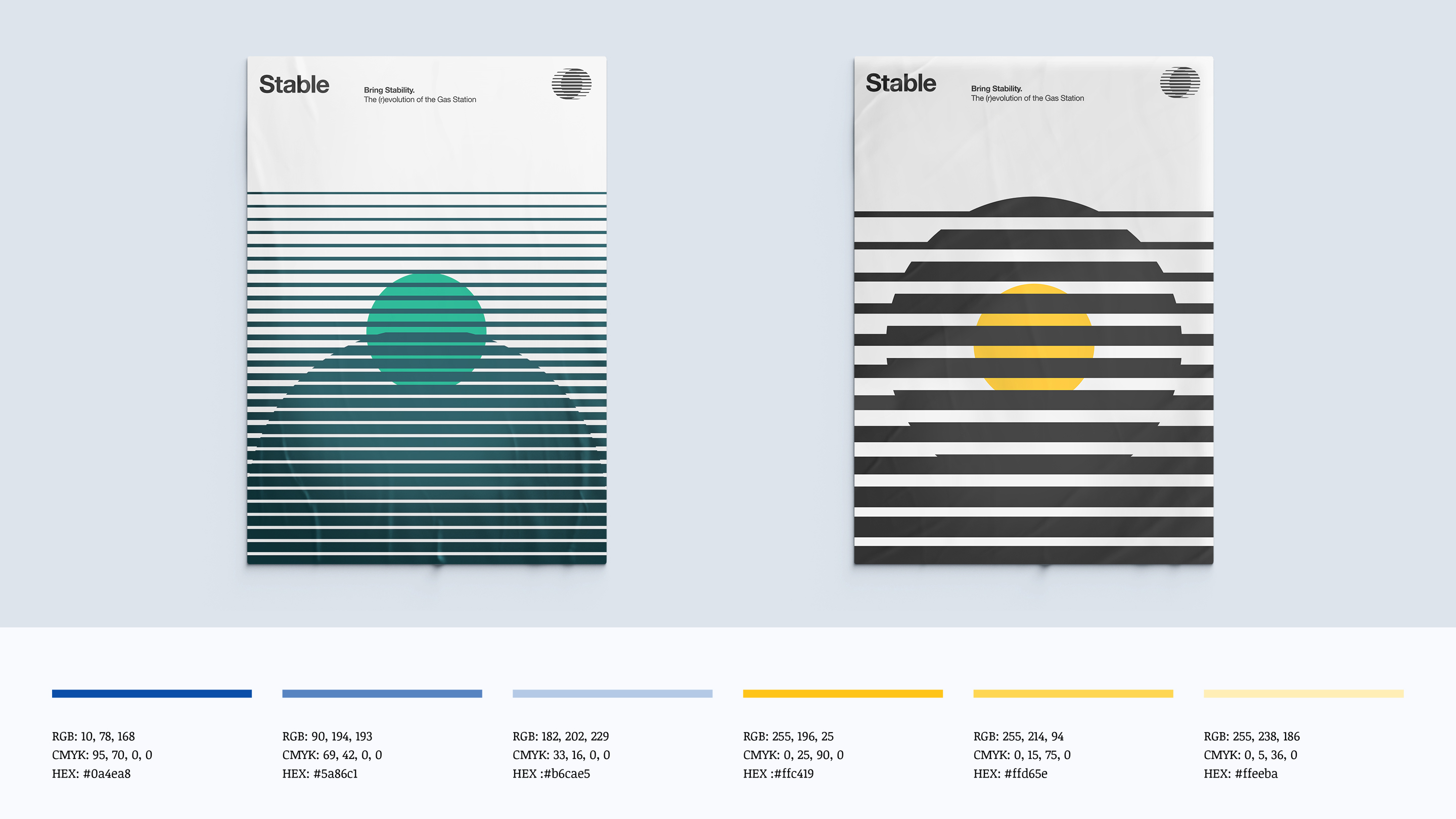 Stable Posters