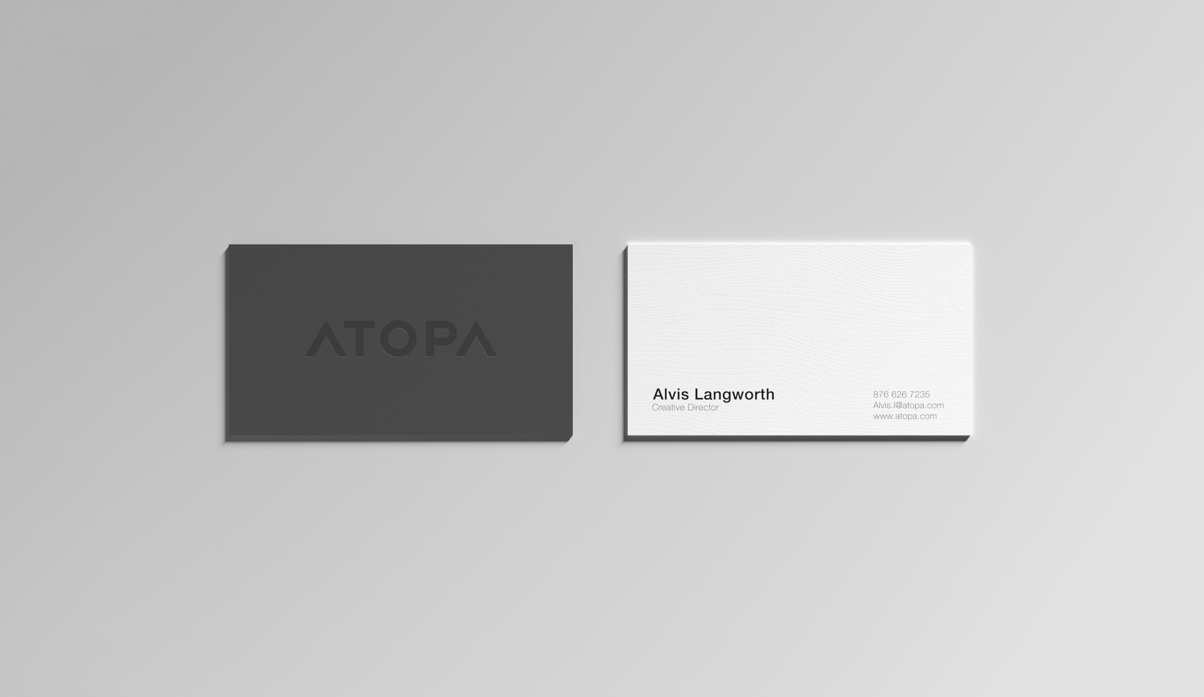 Atopa Business Cards