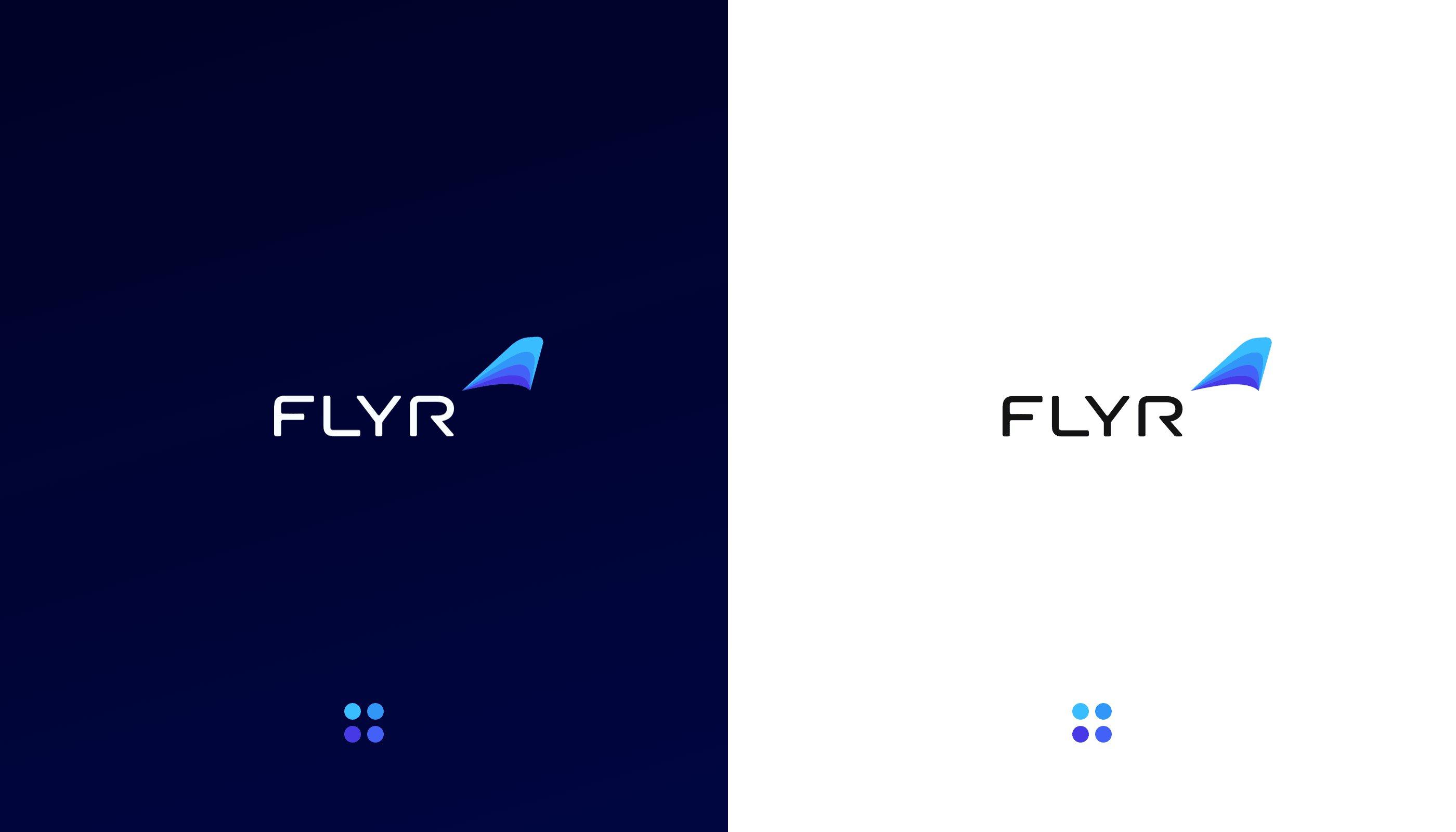 Flyr Logo Dark Light