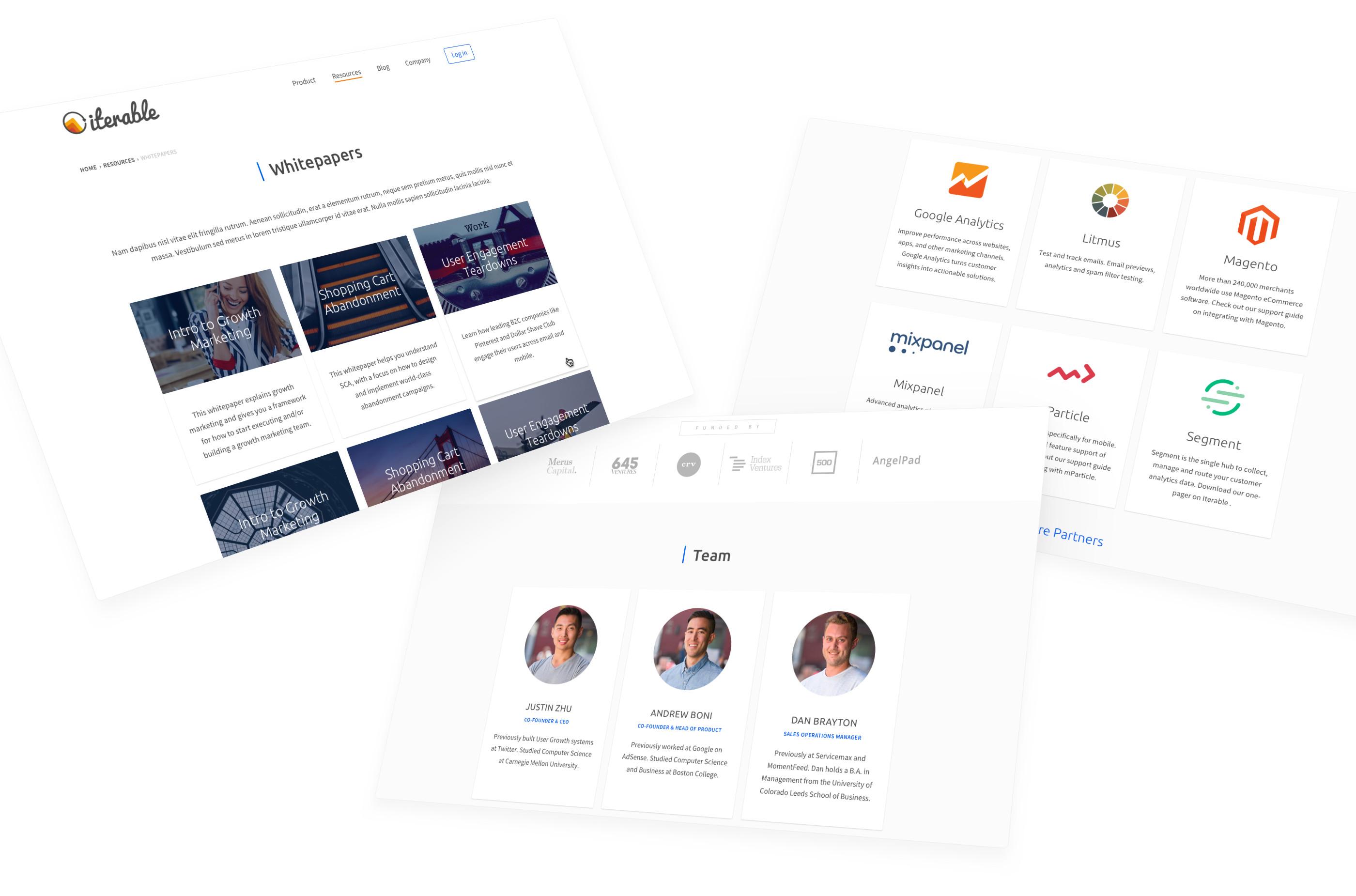 Iterable website
