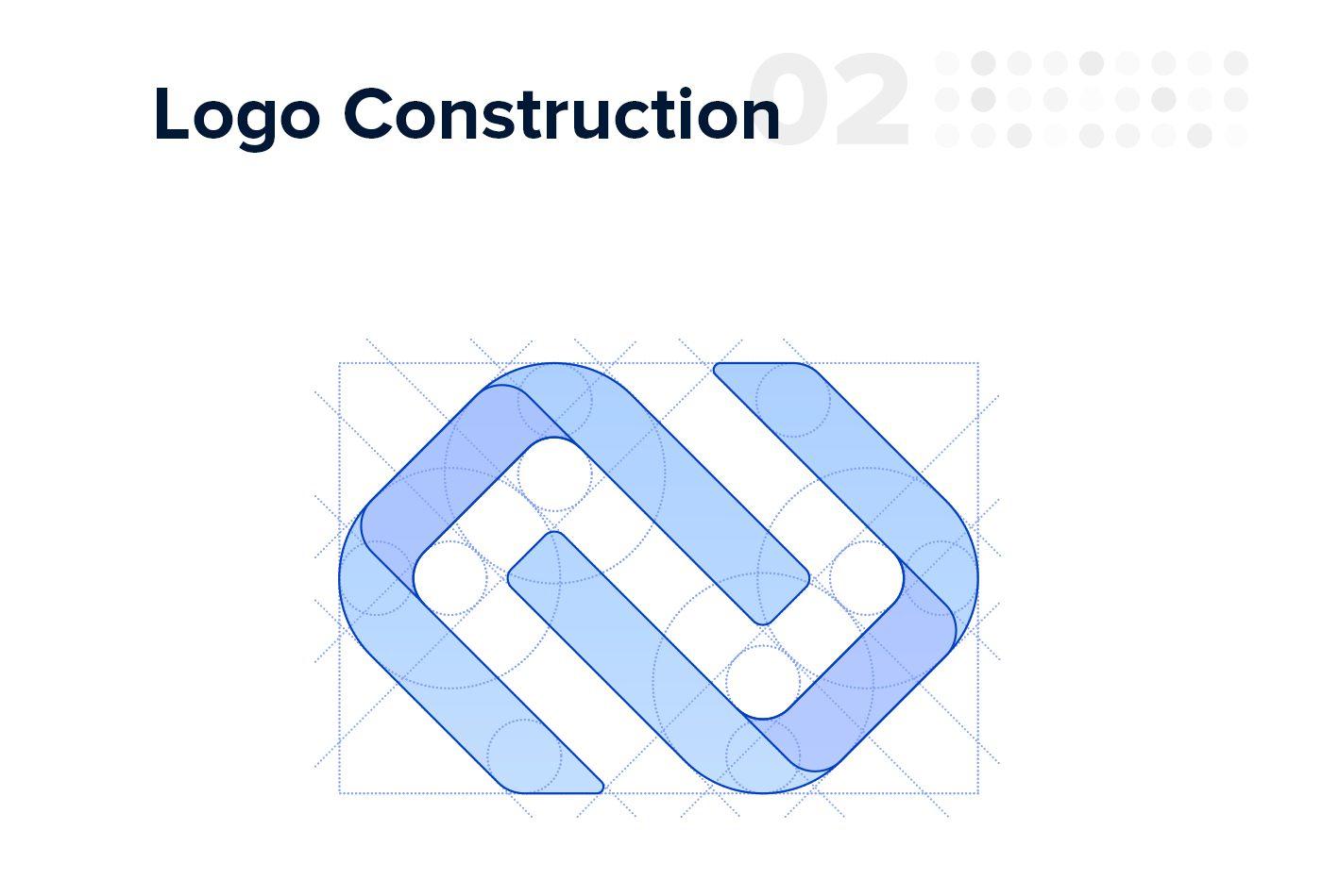 IronChain Logo Construction