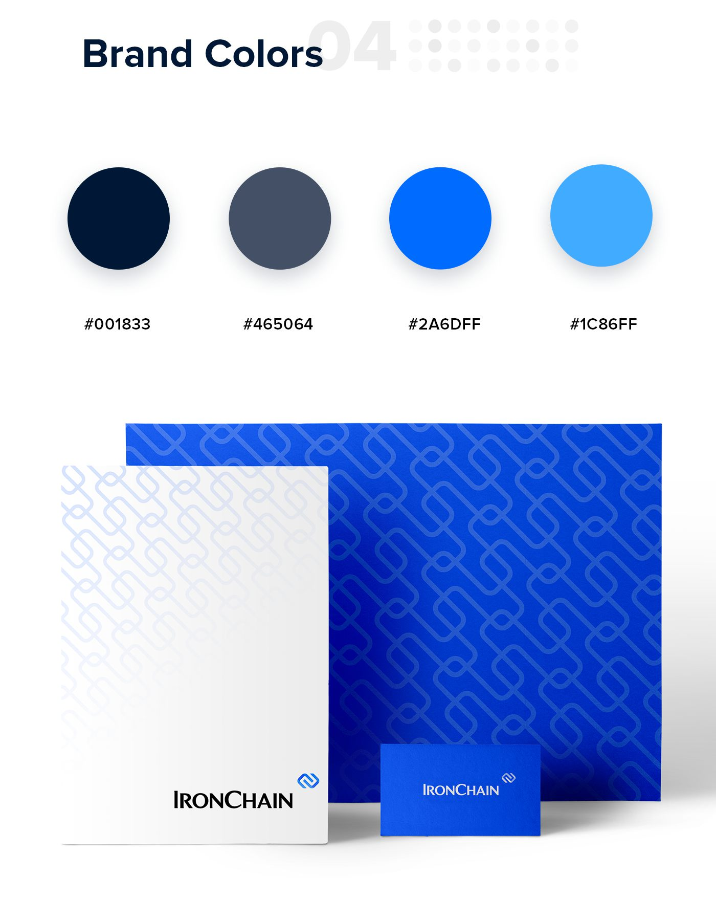 Ironchain Brand Colors
