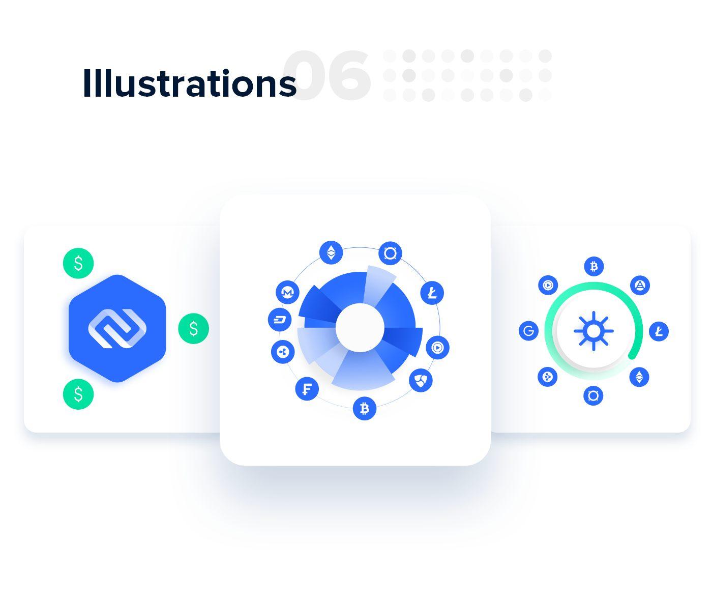 Ironchain illustrations