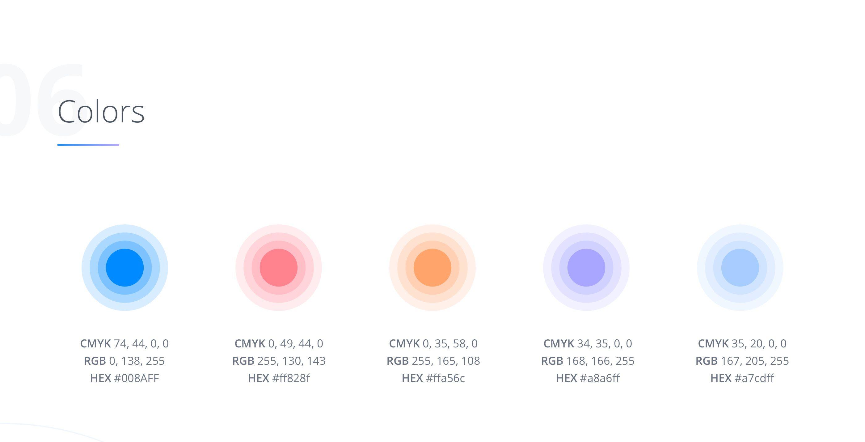 Blockchain Colors