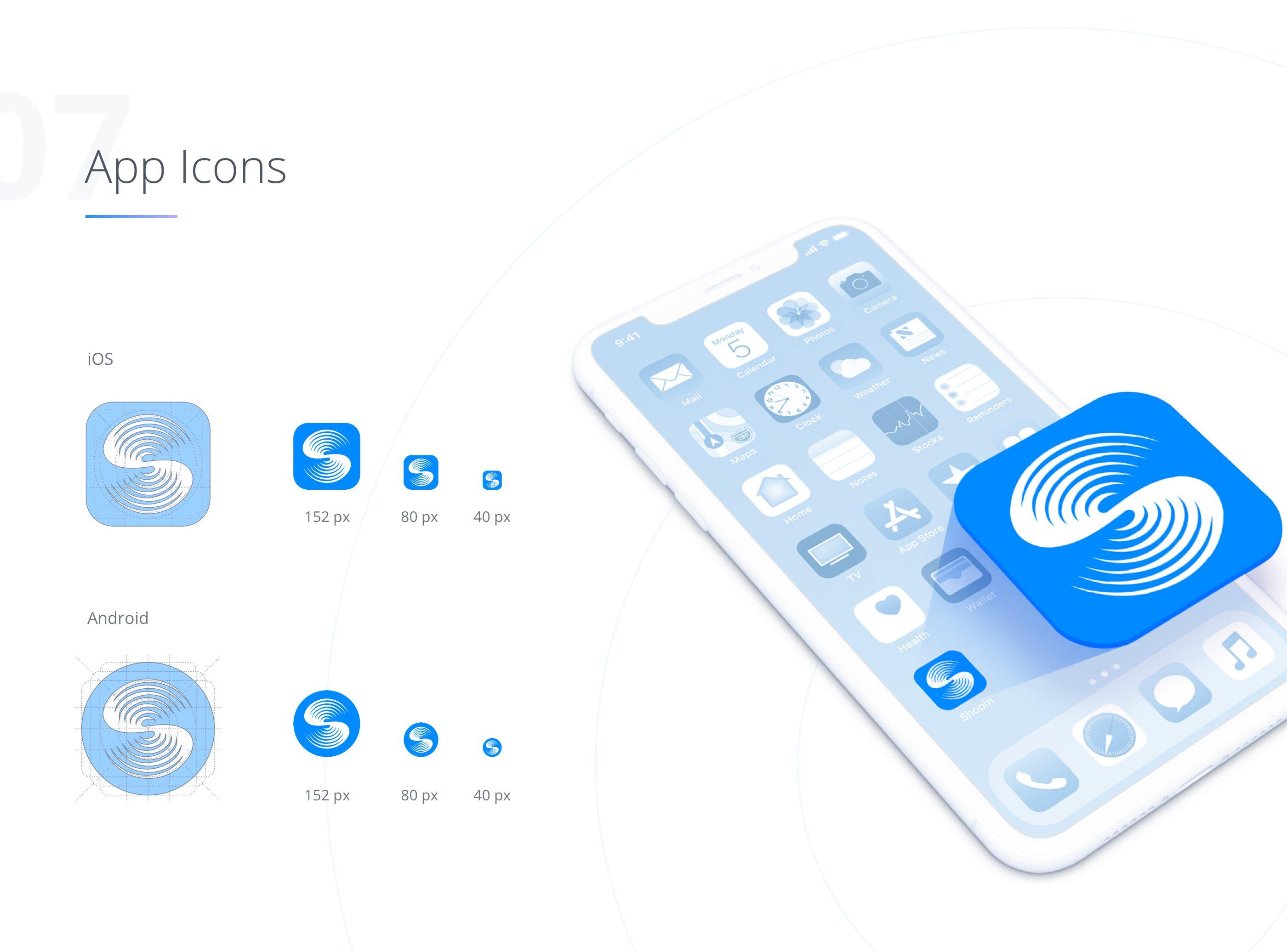 BlockChain App Icons