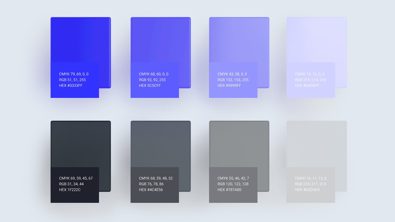 transcend color scheme