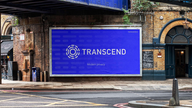 transcend brand city wall