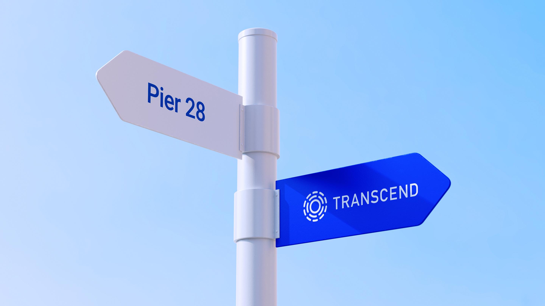 transcend city sign