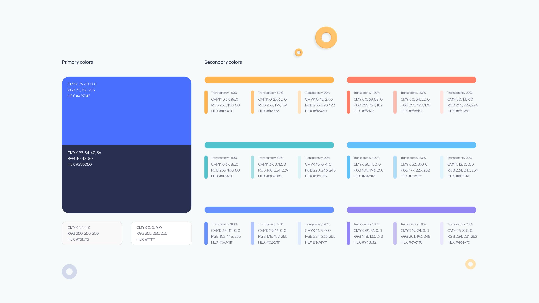 Ninox Color scheme
