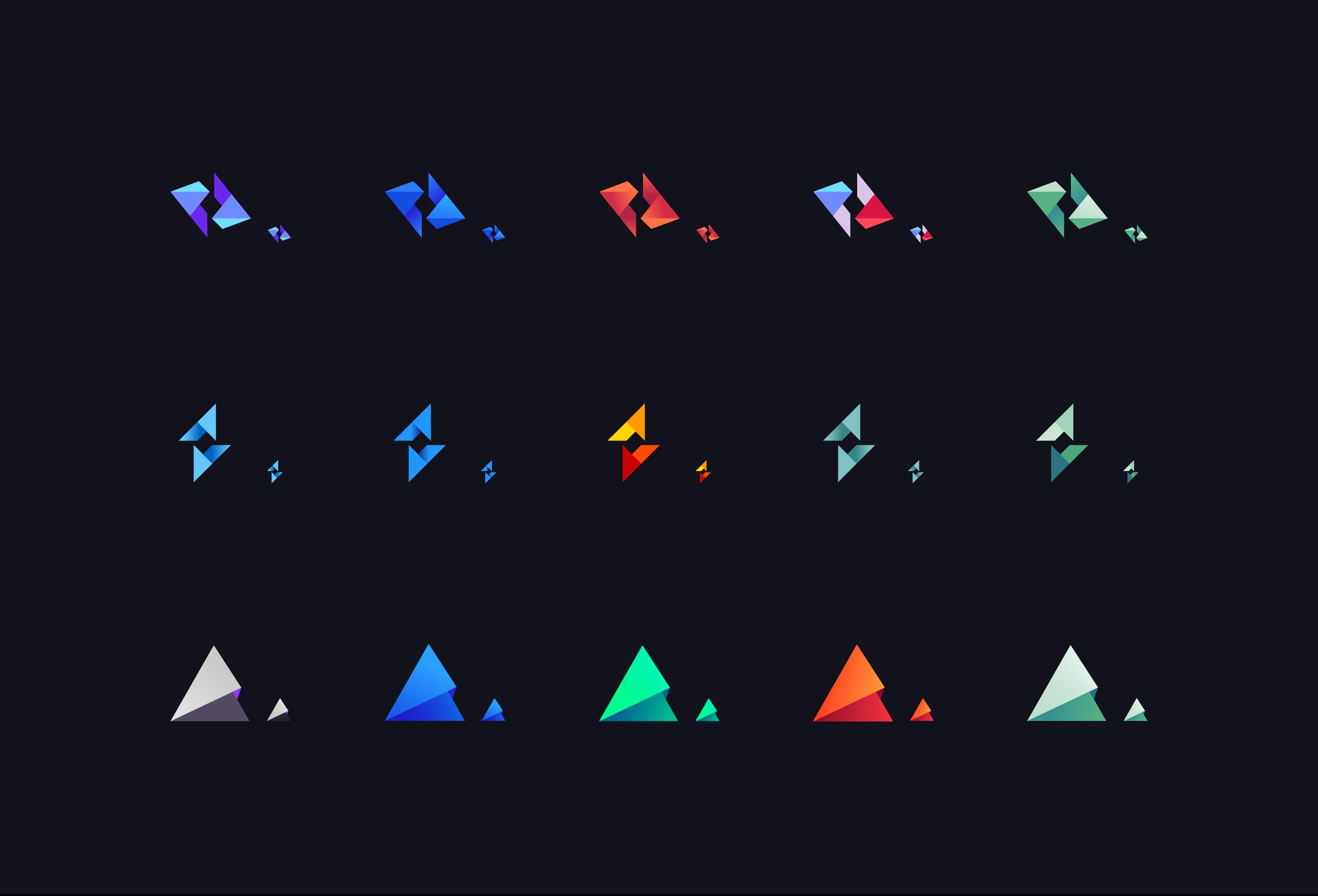 kyber network logo options