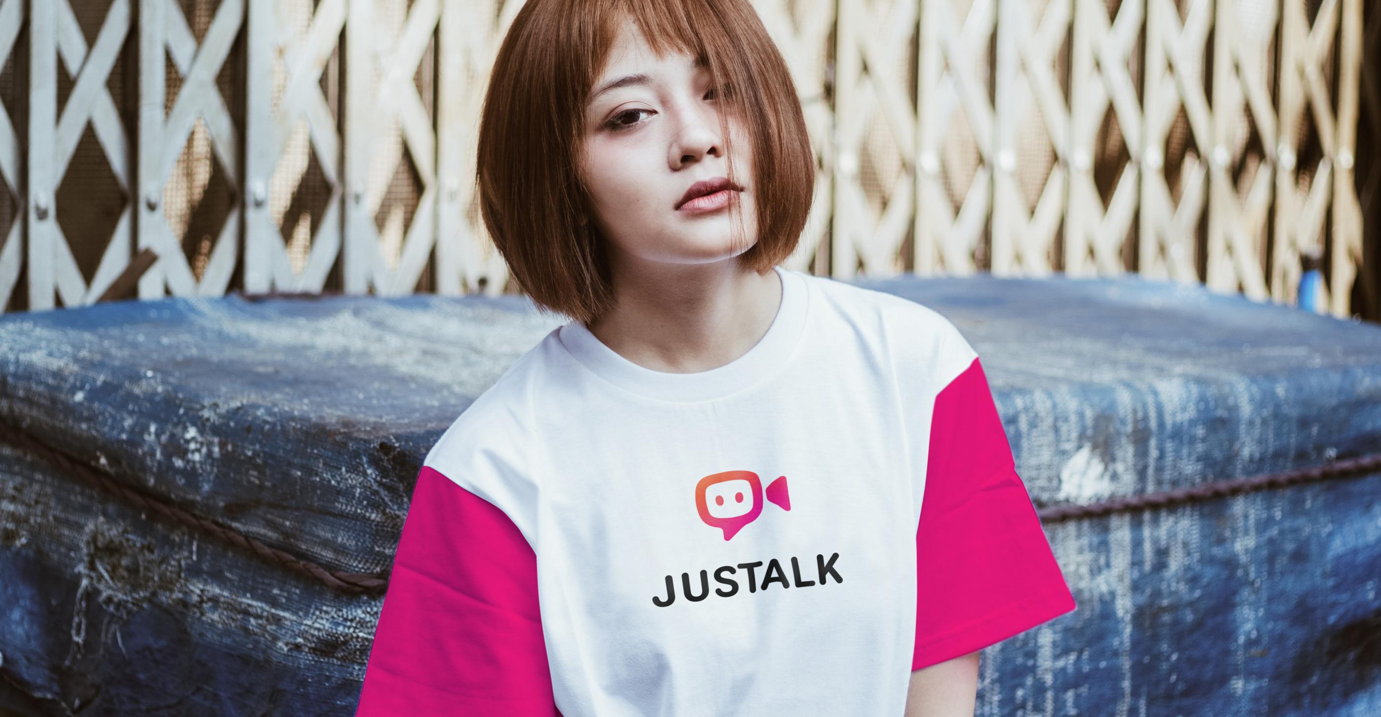 justalk t-shirt