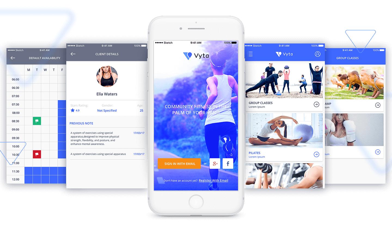 Vyta Mobile Application